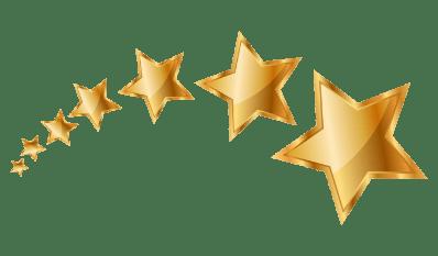 hvězdičky hodnocení